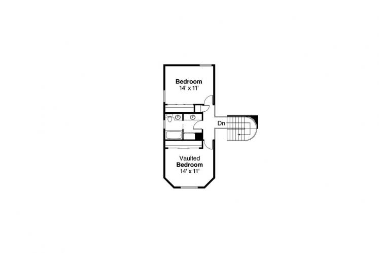 Victorian House Plan - Freemont 14688 - 2nd Floor Plan