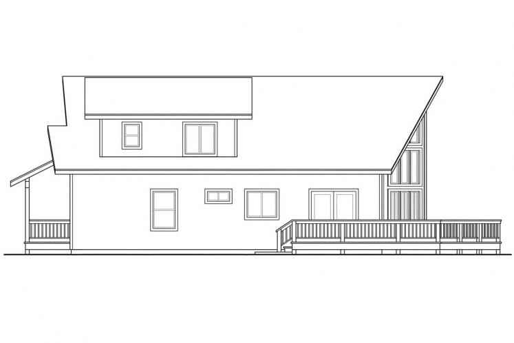Cottage House Plan - Gerard 15090 - Right Exterior