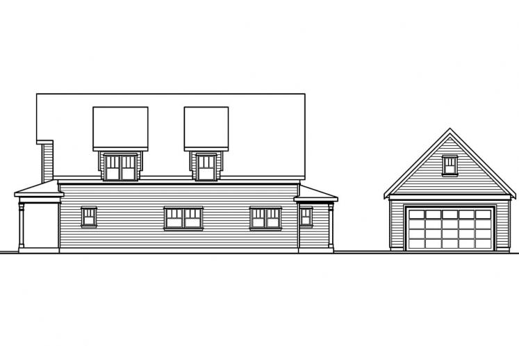 Country House Plan - Mayberry 15130 - Right Exterior