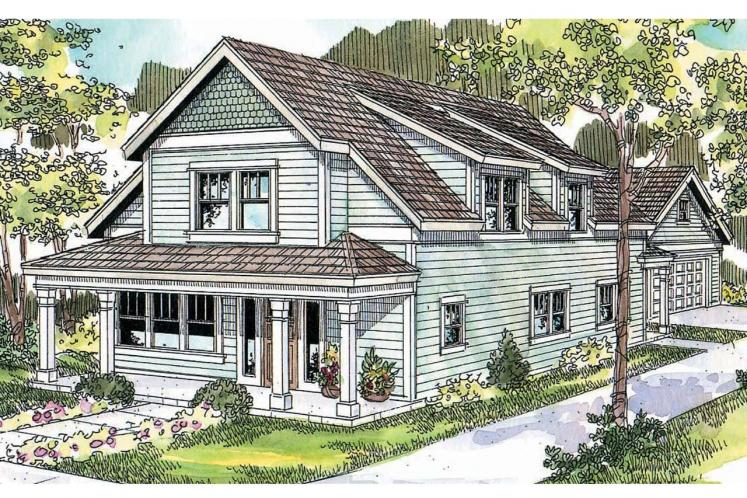 Country House Plan - Mayberry 15130 - Front Exterior