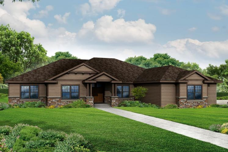 Craftsman House Plan - Cannondale 15377 - Front Exterior