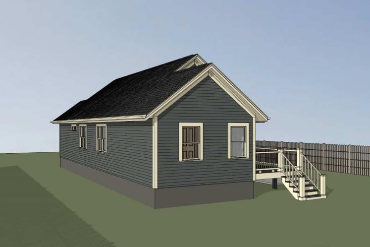 Country House Plan -  15420 - Right Exterior