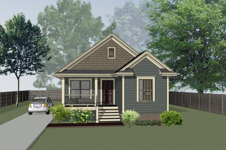 Cottage House Plan -  15420 - Front Exterior