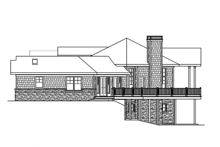 Craftsman House Plan - Crestview 15451 - Right Exterior