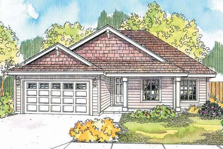 Country House Plan - Olmstead 15558 - Front Exterior