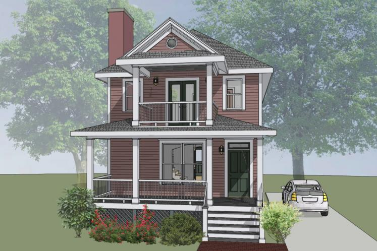 Country House Plan -  15568 - Front Exterior