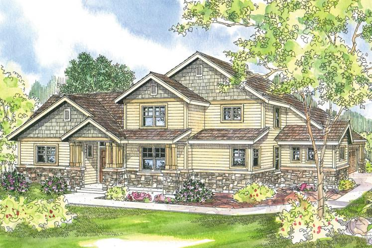Craftsman House Plan - Awbery 15856 - Front Exterior
