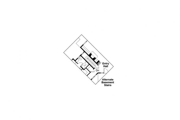 Craftsman House Plan - Heartview 15964 - Basement Floor Plan