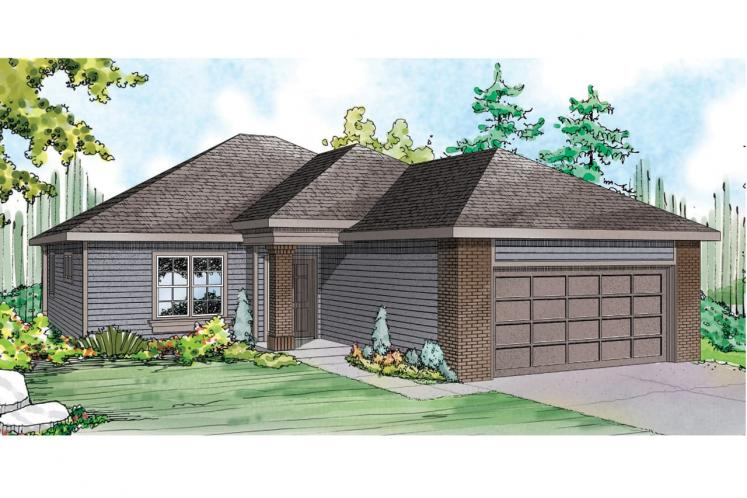 Traditional House Plan - Alden 16171 - Front Exterior