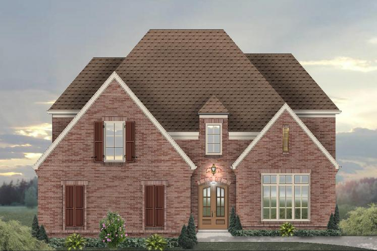 Classic House Plan -  16221 - Front Exterior