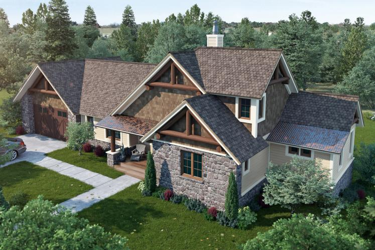 Traditional House Plan - Cedar Point 16372 - Front Exterior