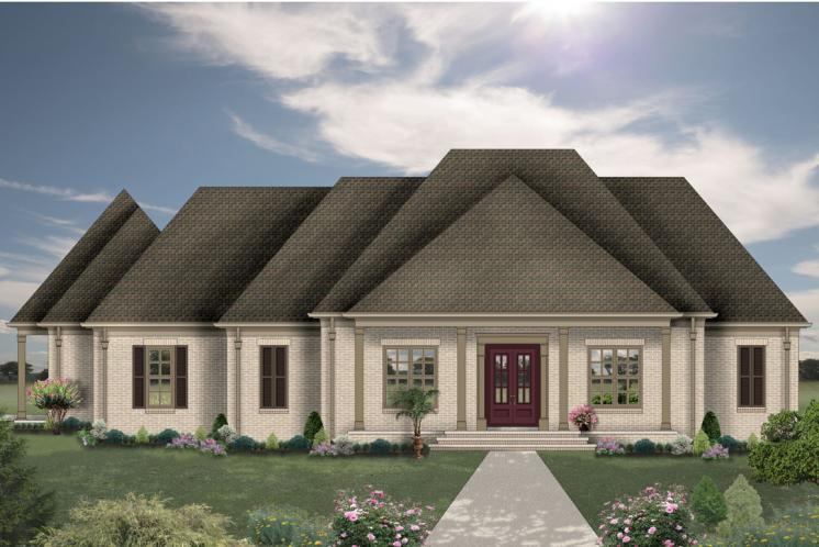 Traditional House Plan -  16388 - Front Exterior