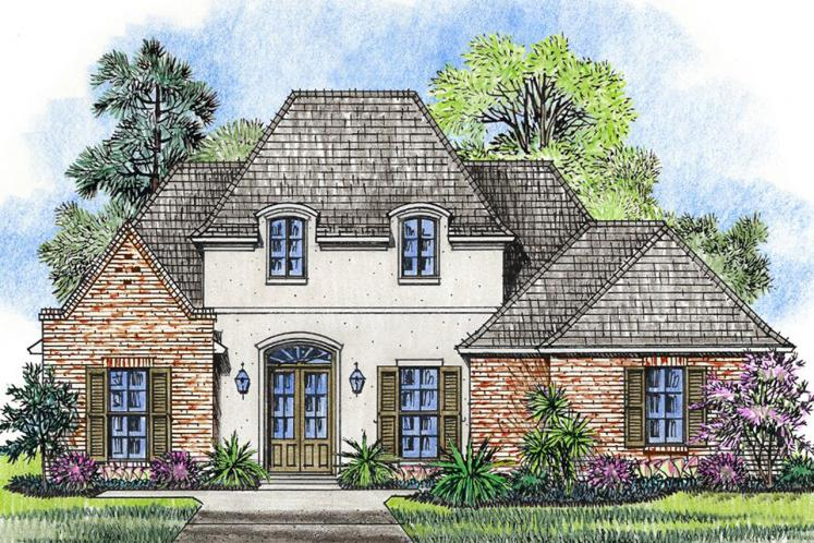European House Plan - Lexington 16922 - Front Exterior