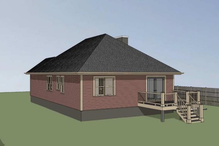 Cottage House Plan -  16972 - Right Exterior