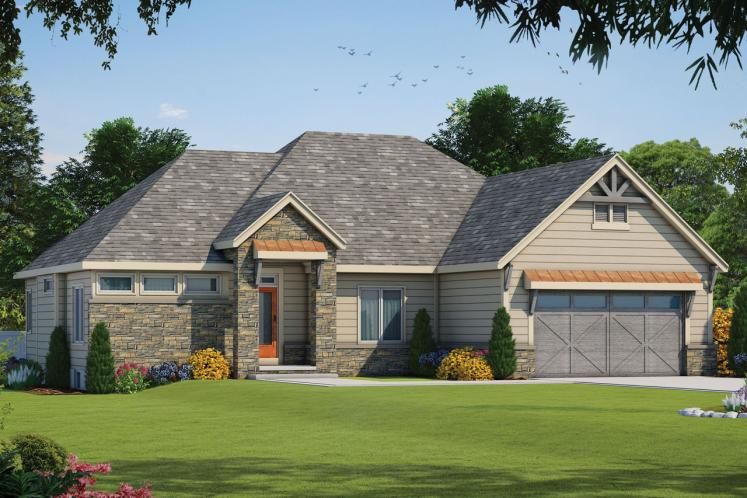 Traditional House Plan - Sinclair Springs 16998 - Front Exterior