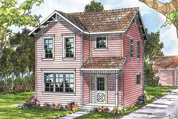 Country House Plan - Emerson 17347 - Front Exterior