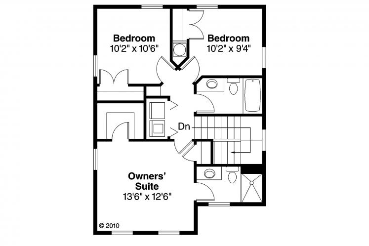 Cottage House Plan - Emerson 17347 - 2nd Floor Plan