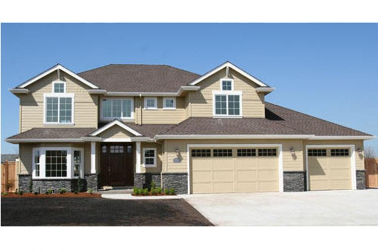 Classic House Plan - Masterson 17366 - Front Exterior