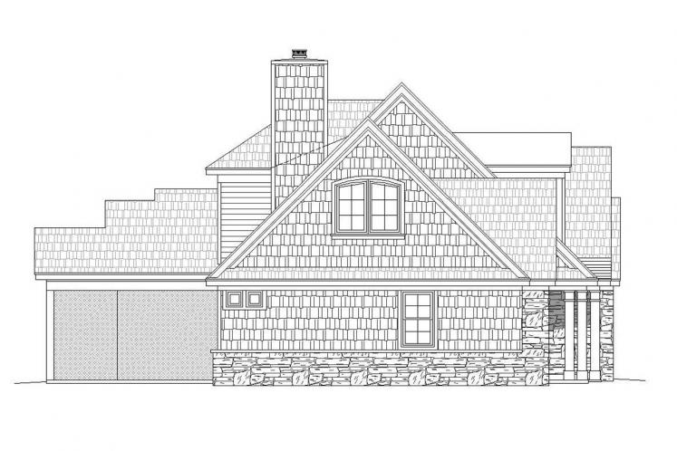 Classic House Plan - Chadwick 18092 - Left Exterior