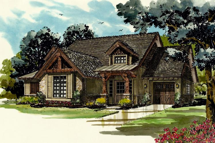 Country House Plan - Coal Creek 18334 - Front Exterior