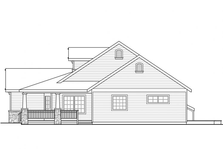 Country House Plan - Northglenn 18514 - Right Exterior