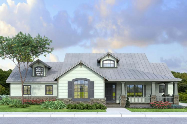 Country House Plan - Northglenn 18514 - Front Exterior