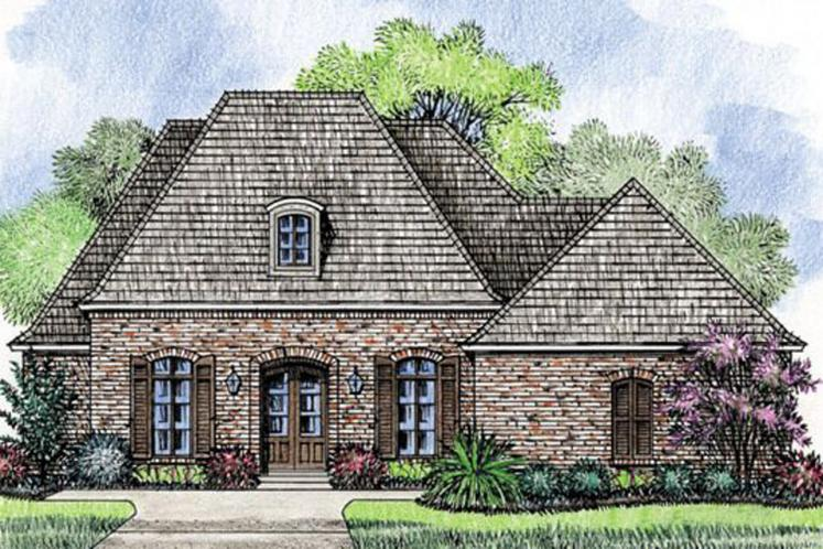 Southern House Plan - Greywood 18754 - Front Exterior