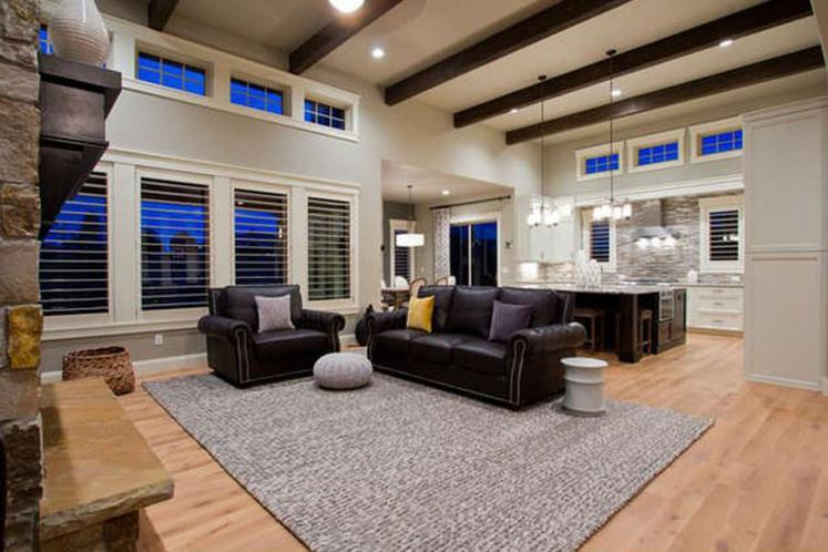 Bungalow House Plan - Canyon Creek 19057 - Great Room