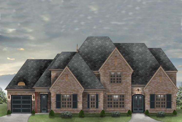 Classic House Plan -  19359 - Front Exterior
