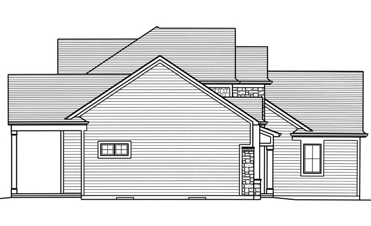 Contemporary House Plan - Clearview 19789
