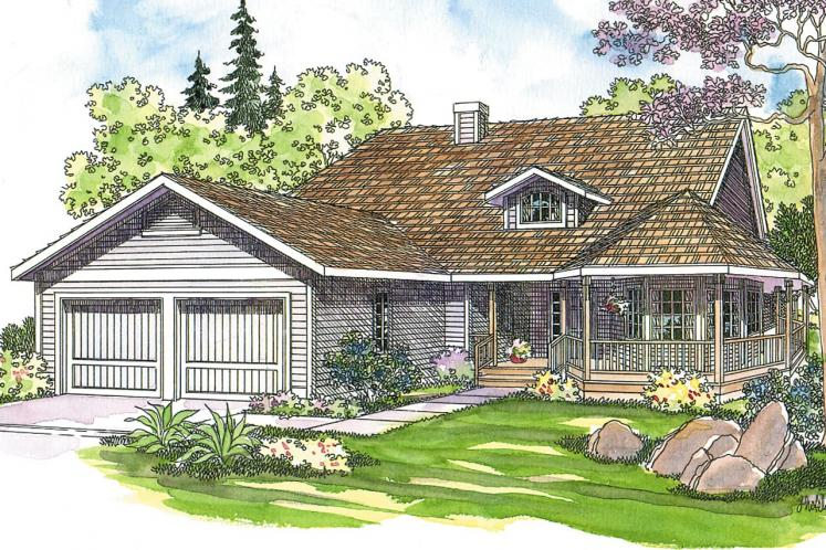 Country House Plan - Cortland 20057 - Front Exterior