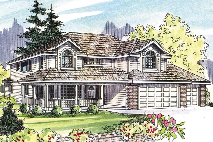 Country House Plan - Kaitlyn 20063 - Front Exterior
