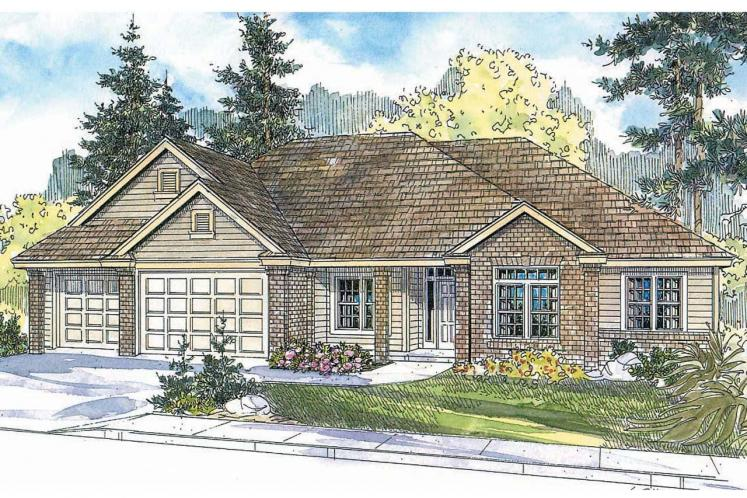 Traditional House Plan - Spencer 20117 - Front Exterior