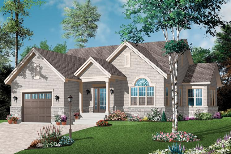 Country House Plan - Kipling 20398 - Front Exterior