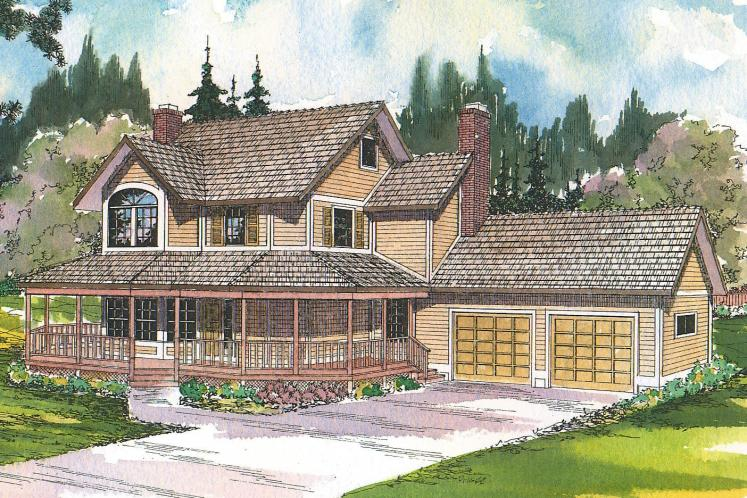Country House Plan - Thompson 20566 - Front Exterior