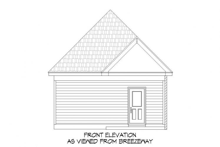 Cottage House Plan -  20627 - Front Exterior