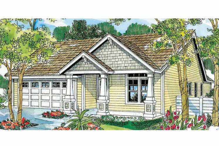 Cottage House Plan - Preston 20779 - Front Exterior