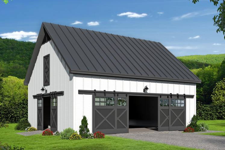 Farmhouse  -  20888 - Front Exterior