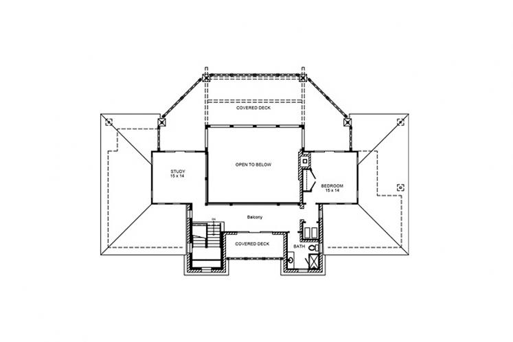 Farmhouse House Plan - Kingsland 21035 - 2nd Floor Plan