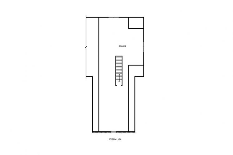 Ranch House Plan - Martindale 21281 - 2nd Floor Plan