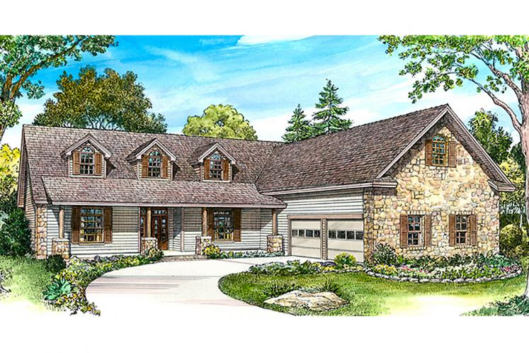 Country House Plan - Martindale 21281 - Front Exterior