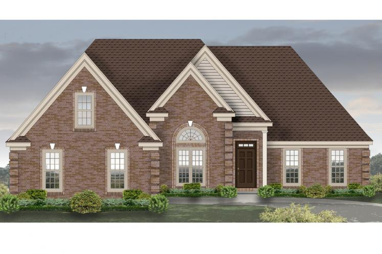 Traditional House Plan -  21533 - 1st Floor Plan