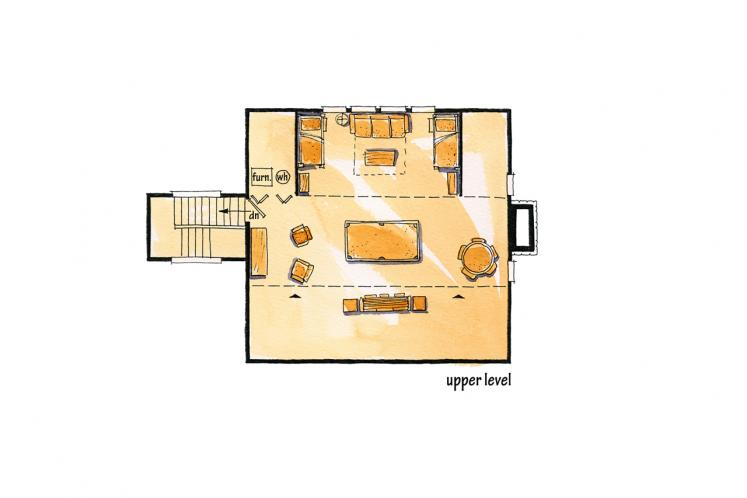 Country House Plan - Eagleview 21909 - 2nd Floor Plan