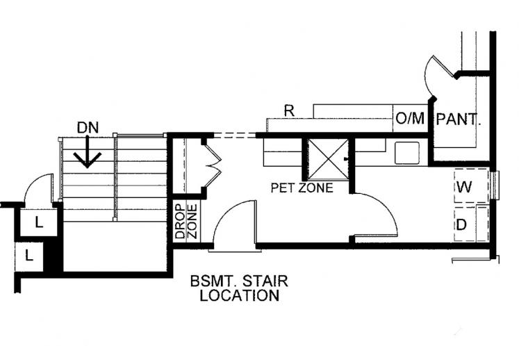 Country House Plan - Del Home 22058 - Optional Floor Plan