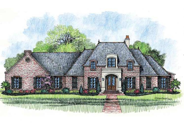 Classic House Plan - Dogwood 22508 - Front Exterior
