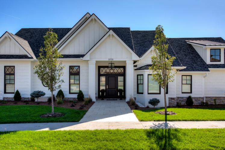 Classic House Plan -  22557 - Front Exterior