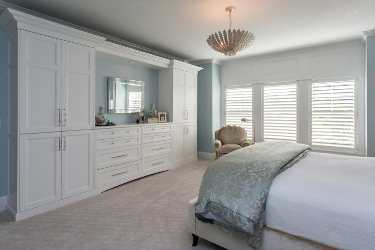 Traditional House Plan -  22557 - Master Bedroom