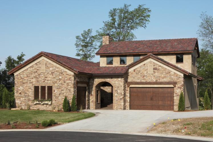 Tuscan House Plan -  23106 - Front Exterior