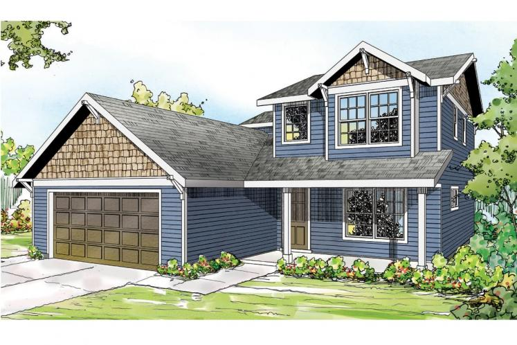 Country House Plan - Paisley 23114 - Front Exterior
