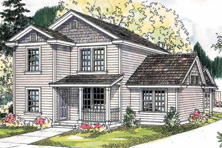 Country House Plan - Ellisville 23710 - Front Exterior